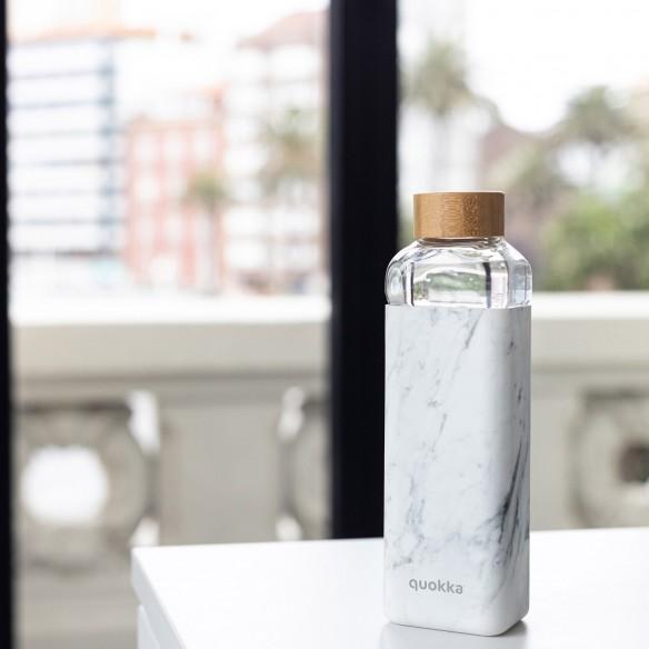 Marble 700 ML Quokka Storm Cristal | Botella de Agua Reutilizable